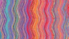 Fond coloré abstrait d'ondes Images libres de droits