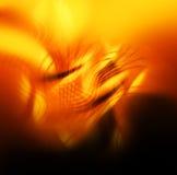 Fond coloré abstrait - flammes, incendie Photos libres de droits