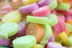 Fond color? de sucrerie image stock