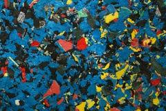 Fond color? par abstrait Texture pressée de différents matériaux image libre de droits