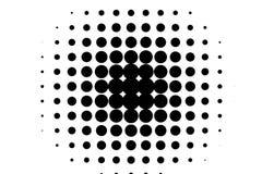 Fond comique Fond tramé monochrome Couleur noire et blanche Photos libres de droits