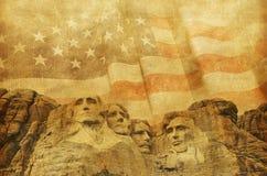 Fond commémoratif américain photographie stock libre de droits