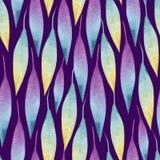 Fond composé de maigre multicolore dans les aquarelles illustration libre de droits