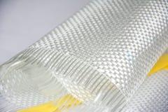 Fond composé de matière première de fibre de verre Photographie stock libre de droits