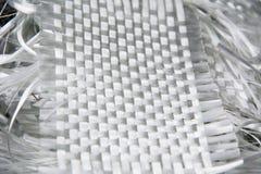 Fond composé de matière première de fibre de verre Photo libre de droits