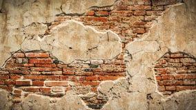Fond concret étiré de mur de vintage, vieux murs Photos libres de droits