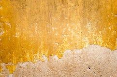 Fond concret criqué de mur de cru, vieux mur Photographie stock libre de droits