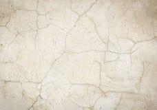 Fond concret criqué de plancher Photos stock
