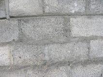 Fond concret de mur de briques de couleur grise photos libres de droits