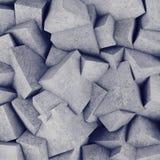 Fond concret de mur du cube 3d Photos stock