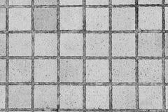 Fond concret de plan rapproché de texture de modèle carré Photos stock