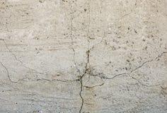 Fond concret gris de texture fissures brouillons dommages Fond criqué de mur en pierre photographie stock libre de droits