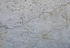 Fond concret gris de texture fissures brouillons dommages Fond criqué de mur en pierre photos libres de droits