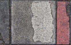 Fond concret sale de texture de plancher de sentier piéton image libre de droits