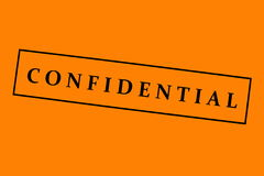 fond confidentiel Photo libre de droits
