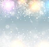 Fond congelé parhiver illustration stock