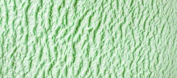 Fond congelé vert de crème glacée  photographie stock libre de droits