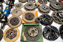 Fond constitué par des pièces de rechange de voitures de vintage Image stock