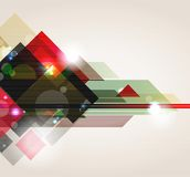 Fond contemporain abstrait. Image stock