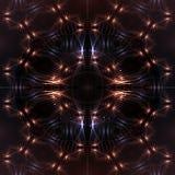 Fond cosmique abstrait. Image libre de droits