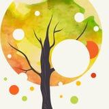 Fond créateur d'automne illustration libre de droits
