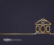 Fond créatif abstrait de vecteur de concept Pour le Web et les applications mobiles, conception de calibre d'illustration, affair illustration libre de droits
