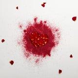 Fond créatif de jour de valentines Photo libre de droits