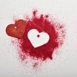 Fond créatif de jour de valentines Photo stock