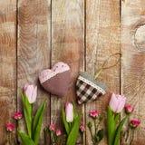 Fond créatif de jour de valentines Image stock