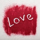 Fond créatif de jour de valentines Photographie stock