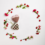 Fond créatif de jour de valentines Images stock