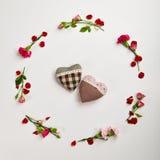 Fond créatif de jour de valentines Images libres de droits