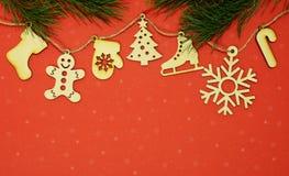 Fond créatif de Joyeux Noël Image stock