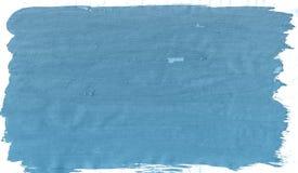 Fond créatif de peinture d'aquarelle de texture de brosse bleue, marquant avec des lettres le croquis d'album illustration de vecteur