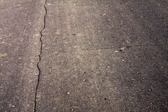Fond criqué d'asphalte Photos stock