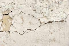 Fond criqué de détail de mur en béton Images libres de droits