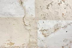 Fond criqué de détail de mur en béton Image libre de droits