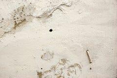 Fond criqué de détail de mur en béton Photo libre de droits