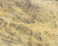 Fond criqué de marbre jaune Images libres de droits