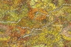 Fond criqué de mur illustration de vecteur