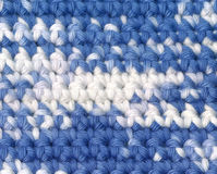 Fond - crochet - filé varié Images libres de droits