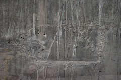 Fond cru de mur en béton Images libres de droits