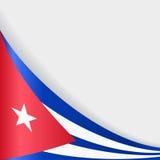 Fond cubain de drapeau Illustration de vecteur illustration stock