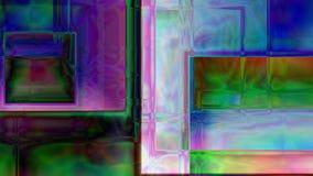 Fond cubique abstrait de prisme Photo stock