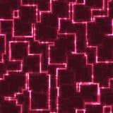 Fond cubique rougeoyant abstrait de texture Image libre de droits