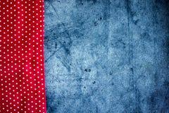 Fond culinaire tissu sur un fond foncé photo libre de droits