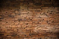 Fond décadent de vieux mur de briques antique images stock