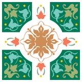 Fond décoré Image stock