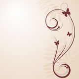 Fond décoratif illustration stock