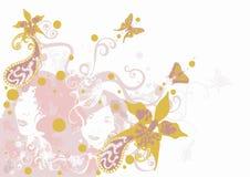 Fond décoratif Image libre de droits
